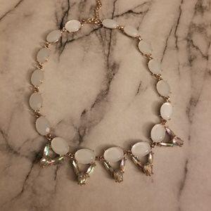 Jewelry - Iridescent Rainbow Rhinestone Necklace